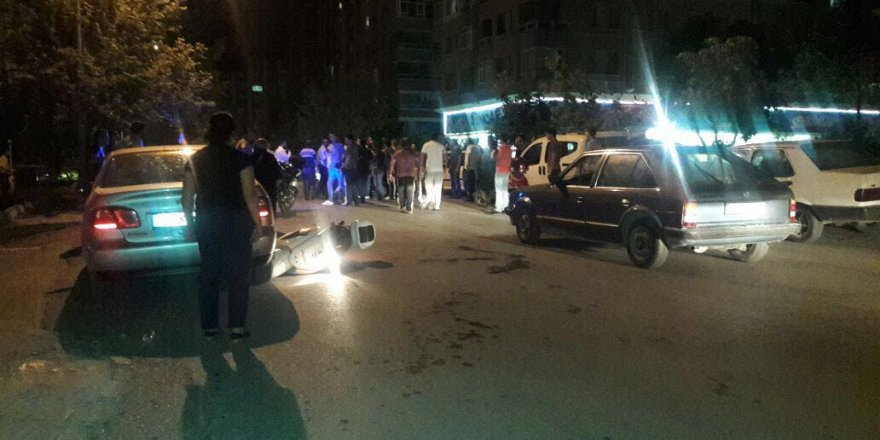 Konya'da olaylı kaza