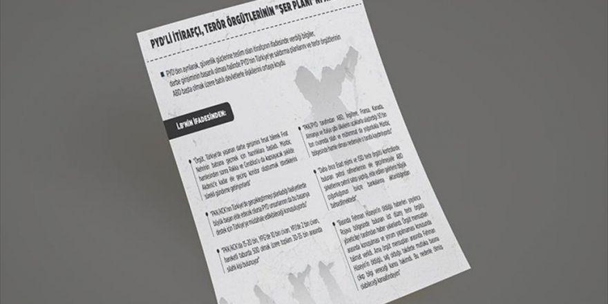 Pyd'li İtirafçı, Terör Örgütlerinin 'Şer Planı'nı Anlattı