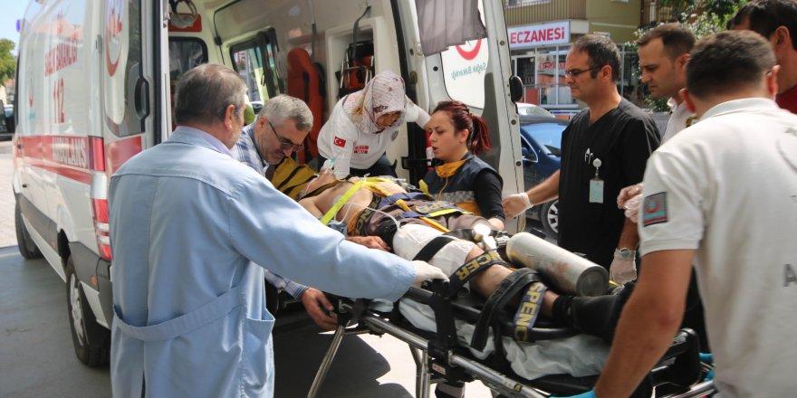 Av tüfeği imalathanesinde iş kazası: 4 yaralı