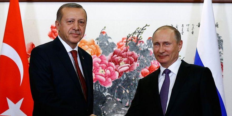 """Erdoğan Ve Putin'den """"Halep'te Ateşkes"""" Görüşmesi"""
