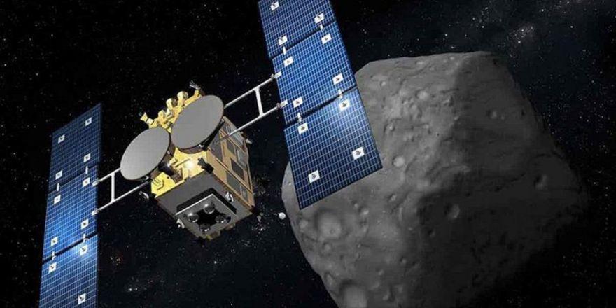 Nasa Gök Taşına Uzay Aracı Gönderdi