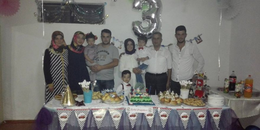 Efe için İmge Çocuk'ta yaş günü kutlaması