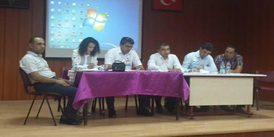 Kulu'da İlçe Milli Eğitim Danışma Kurulu Toplantısı yapıldı.