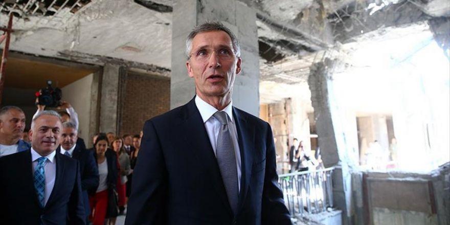 Nato Genel Sekreteri Stoltenberg: Nato'nun Türkiye İle Tam Anlamıyla Dayanışması Mevcuttur