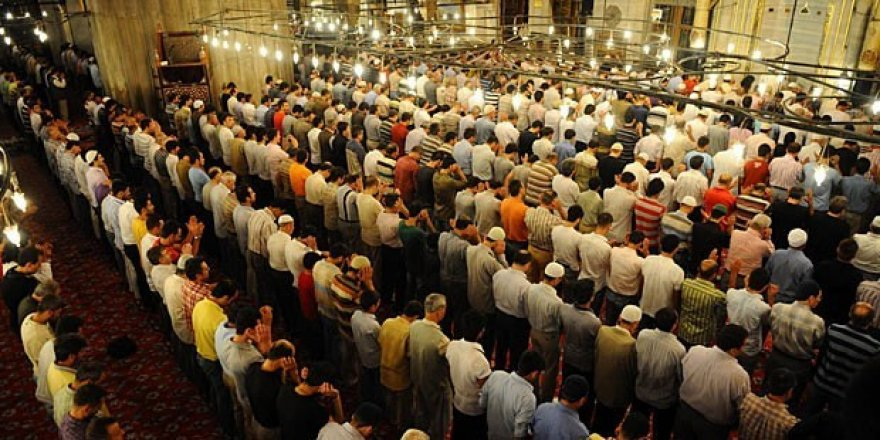 Konya'da bayram namazı saati