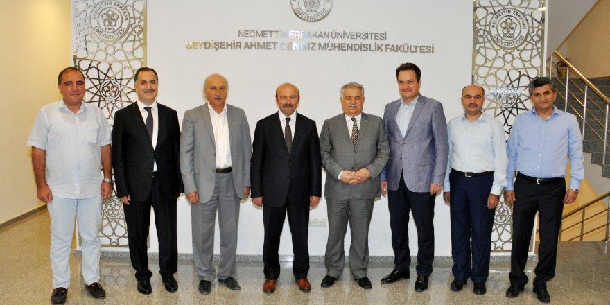 Seydişehir'in yüksek öğretim sorunları masaya yatırıldı