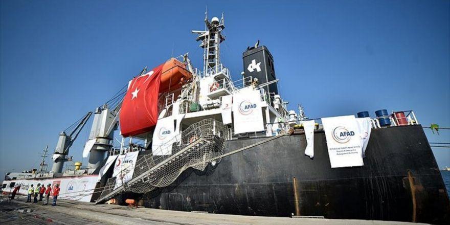 'İyilik Gemisi' Afrika Yolunda