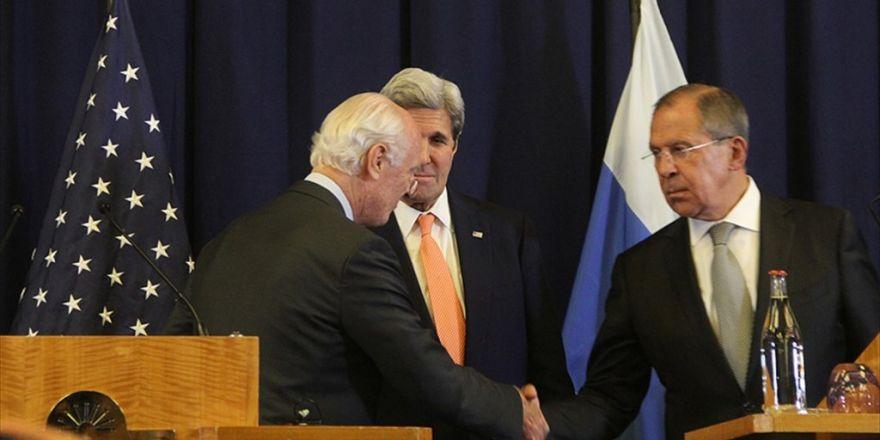 Abd İle Rusya Suriye Konusunda Anlaşmaya Vardı