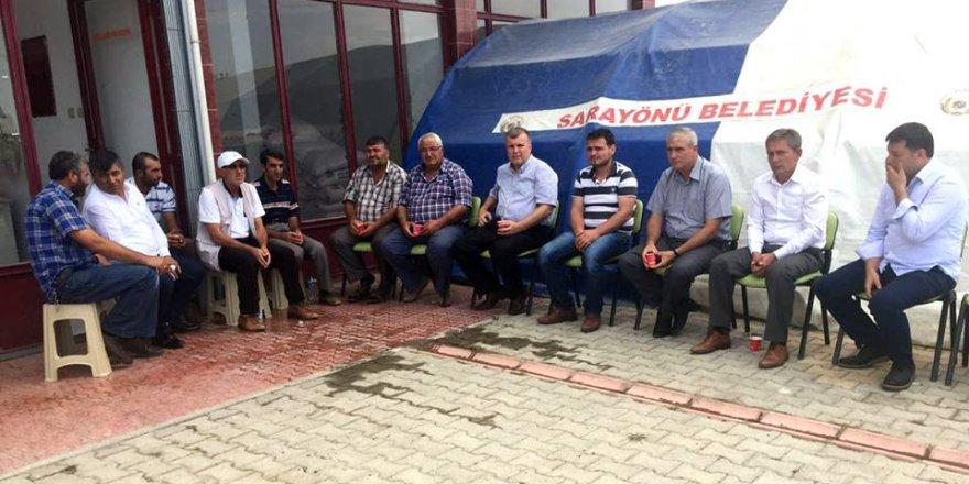 Atiker Konyaspor'dan şehit ailesine ziyaret