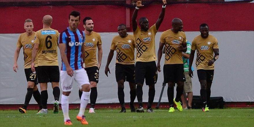 Trabzonspor Osmanlıspor'a Evinde Kaybetti