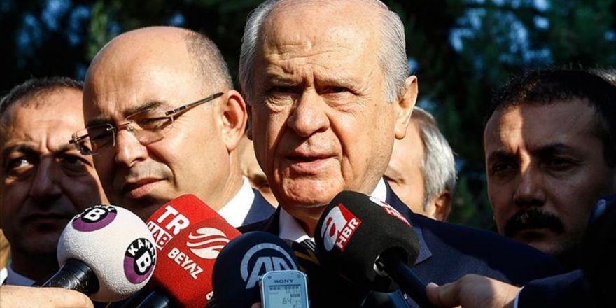 Mhp Genel Başkanı Bahçeli: Terörle Mücadele Esas Alınmışsa Yapılan Doğrudur