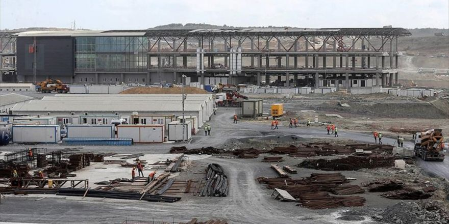 Yeni Havalimanına Raylı Sistem İçin Ypk'ya Başvuruldu