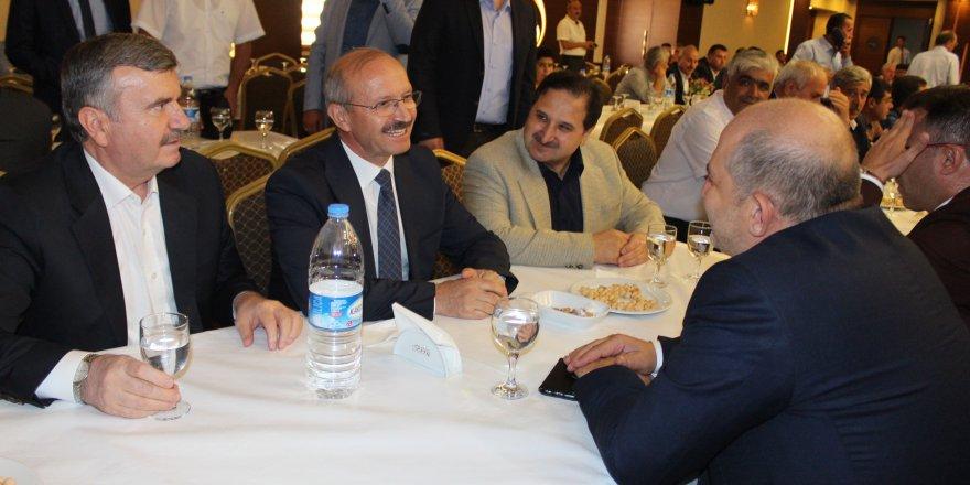 AK Parti Konya il teşkilatı bayramlaştı