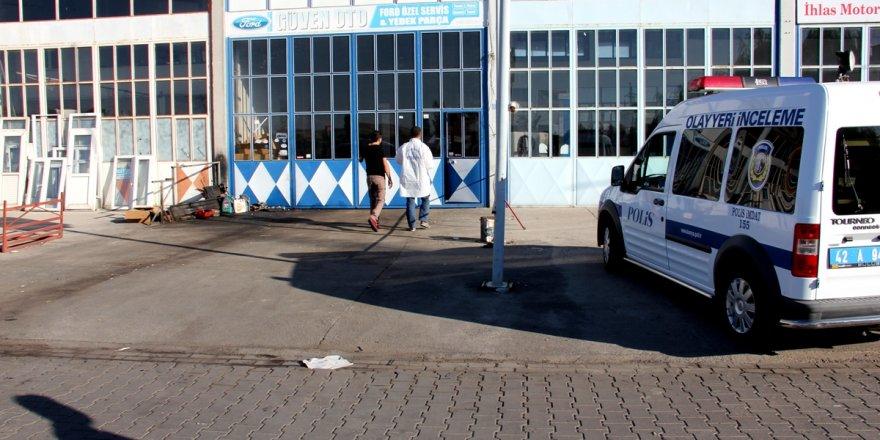 Seydişehir'de iş yerinden hırsızlık