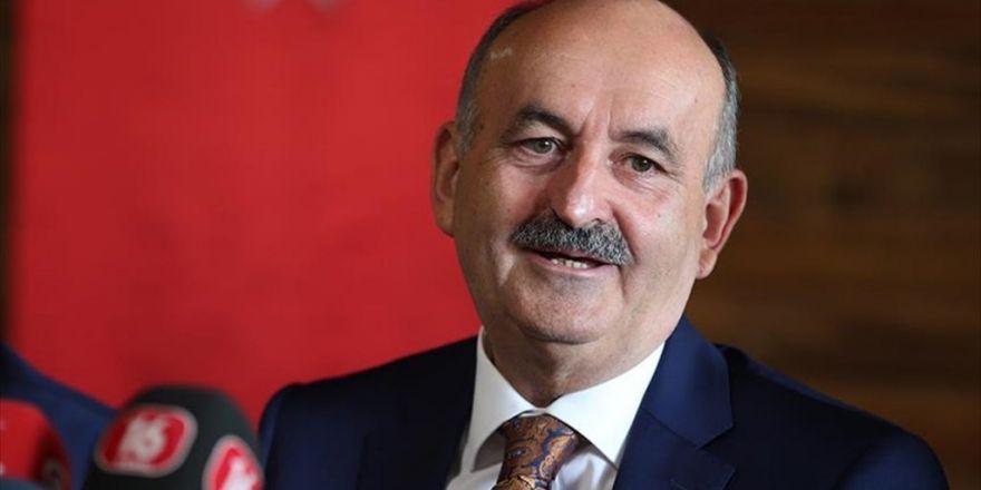 Çalışma Ve Sosyal Güvenlik Bakanı Müezzinoğlu: Bu Yıl Sonuna Kadar Ümit Ediyoruz Sonuçlandırırız
