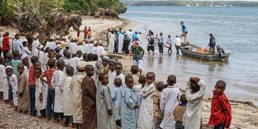 Tdv Zanzibar'a Teknelerle Kurban Eti Ulaştırdı