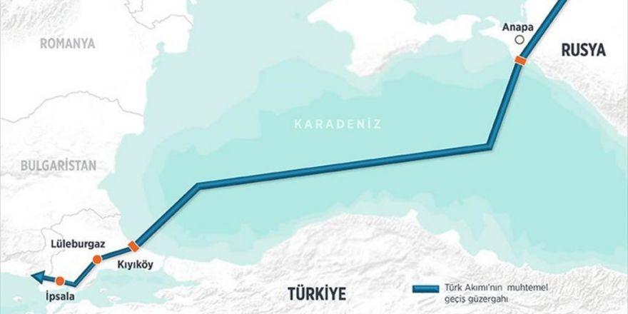 Gazprom Türk Akımı'nın Deniz Kısmı İçin İlk İzni Aldı