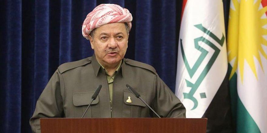 Ikby Başkanı Barzani: Pyd Suriye'de Pkk'nın Siyasetini Uyguluyor
