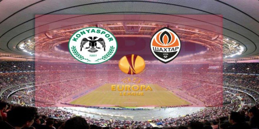 Konyaspor-Shaktar maçı hangi kanalda yayınlanacak?