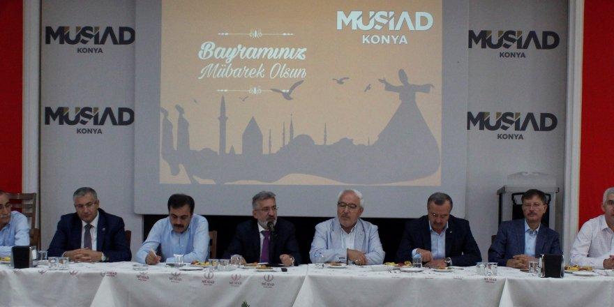 MÜSİAD Konya Şubesin'de  bayramlaşma yapıldı