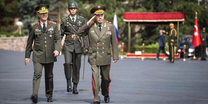 Rusya Genelkurmay Başkanı Ankara'da