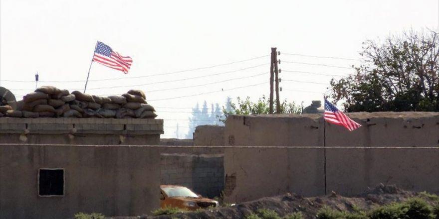 Pyd 'Karargahı'nda Abd Bayrağı