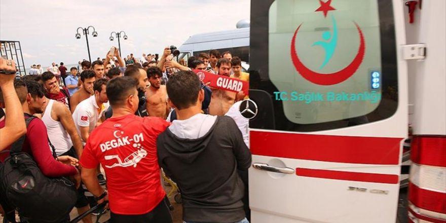 Samsun'da Denize Giren 3 Kardeş Boğuldu