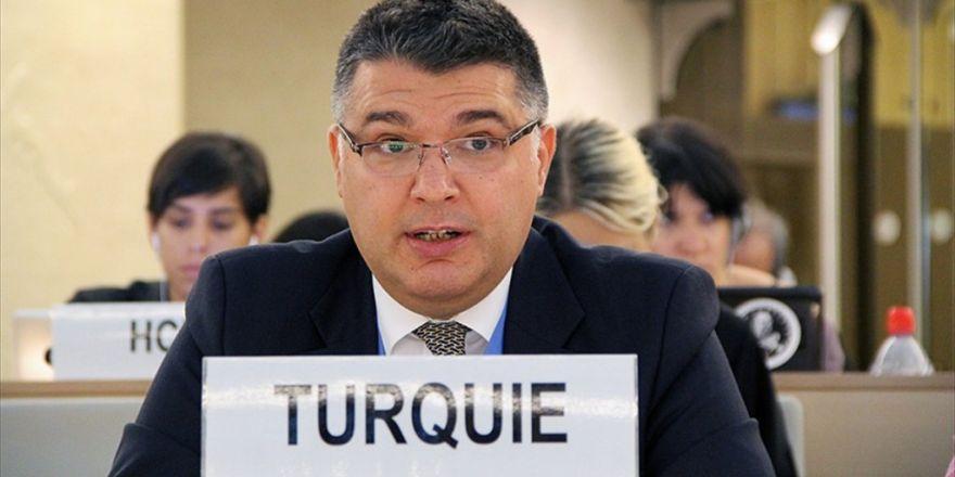 Türkiye'den Bm Çalışma Grubu'na Pkk Tepkisi
