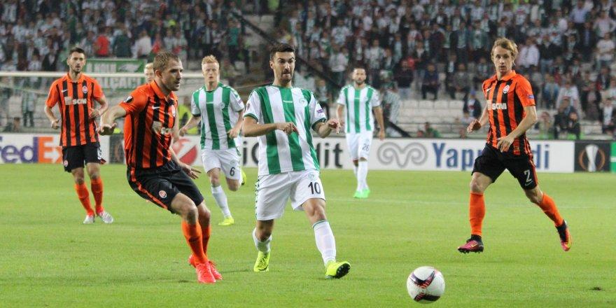Atiker Konyaspor: 0 - Shakhtar Donetsk: 1