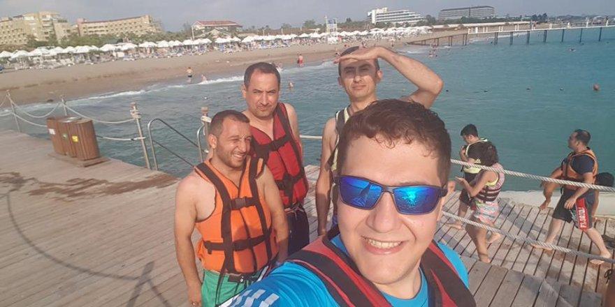 Tayyar Sami Atiker'in jet ski keyfi