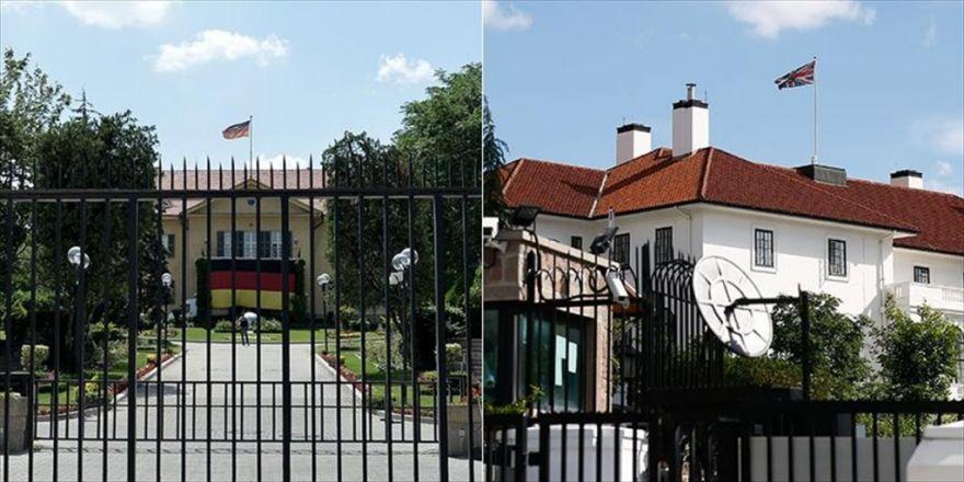 Büyükelçilikler Tedbiren Kapalı Tutuldu