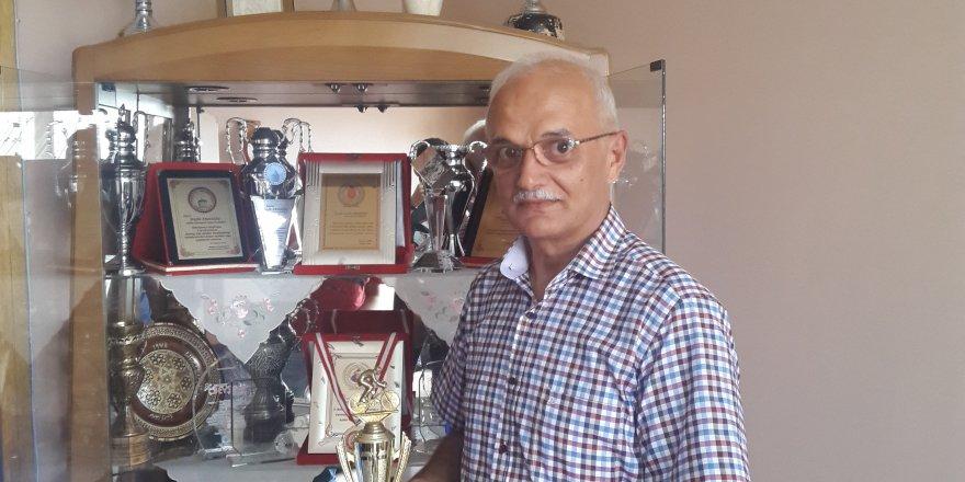 Kupa ve madalya avcısı Tevfik Erdoğdu özel müzesinde