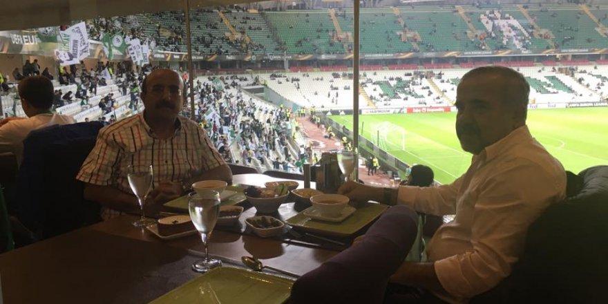 Ahmet İçyer ile İbrahim Kalaycı Arena Restoran'da
