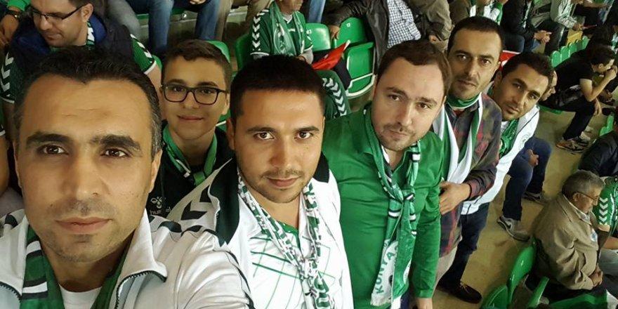 Mustafa Günindi ve arkadaşları Shakhtar Donetsk maçındalar