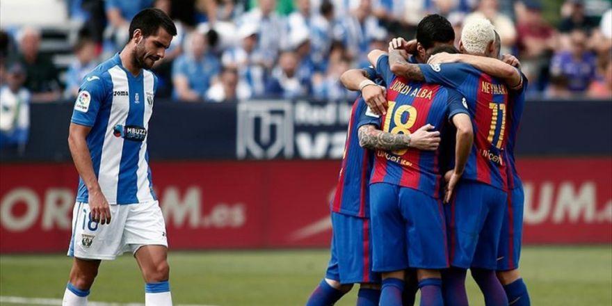 Barcelona'nın Muhteşem Üçlüsü İş Başında