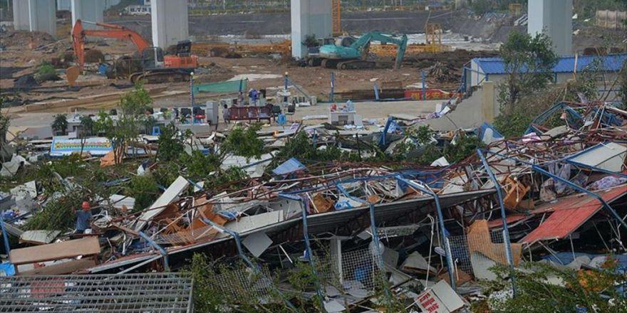 Çin'deki Tayfunda Ölü Sayısı 28'e Yükseldi