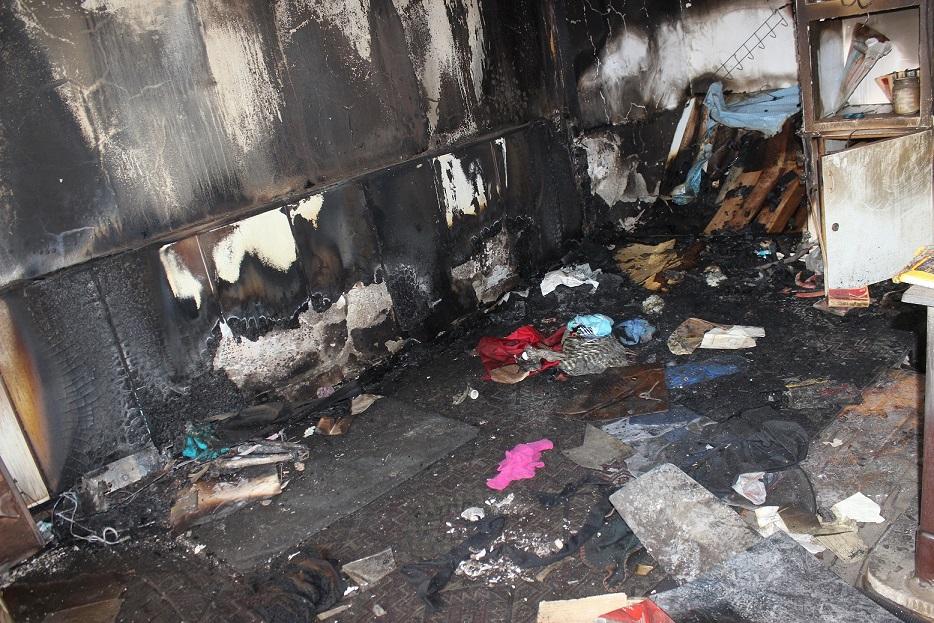 Yangın çıkaran Suriyeli hırsızlar yakalandı