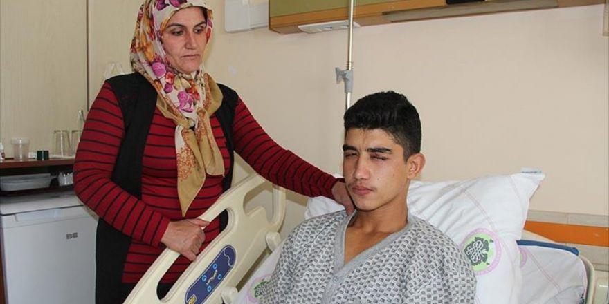 Konya'da Çocukların Attığı 'Torpil' Gözünden Etti