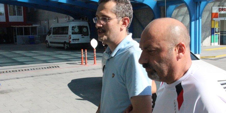 Aranan emniyet müdürü Konya'da yakalandı