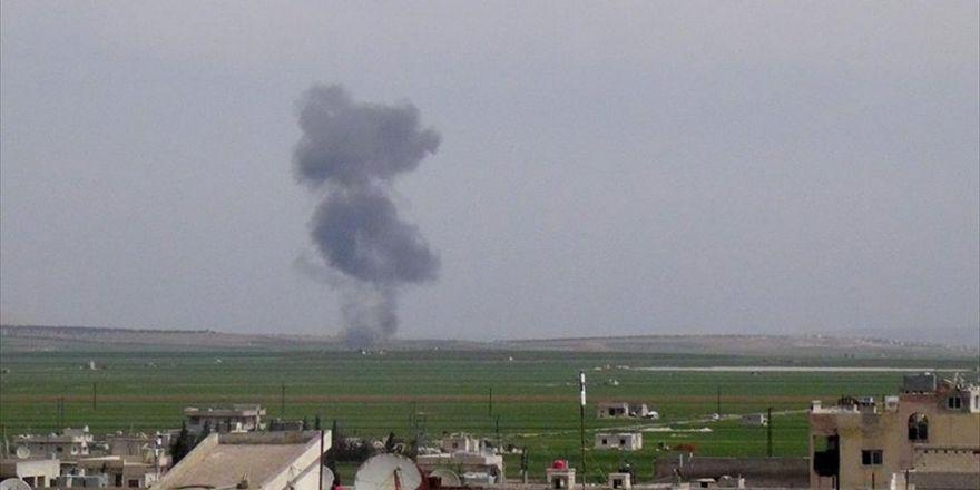 Suriye'de Rejime Ait Savaş Uçağı Düşürüldü