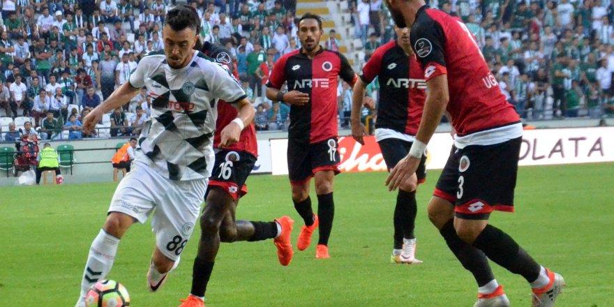 Atiker Konyaspor: 1- Gençlerbirliği: 1