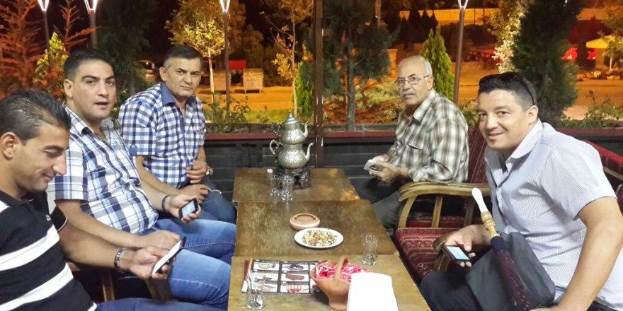 Ali Orhan Cezayir'den gelen konuklarını Sille'de ağırlamış