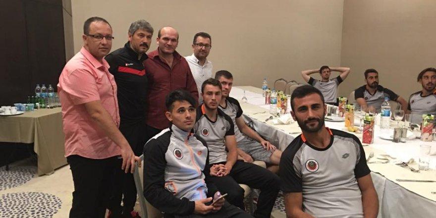 Konyaspor'lu iş adamlarından Gençlerbirliği'ne hoş geldiniz ziyareti