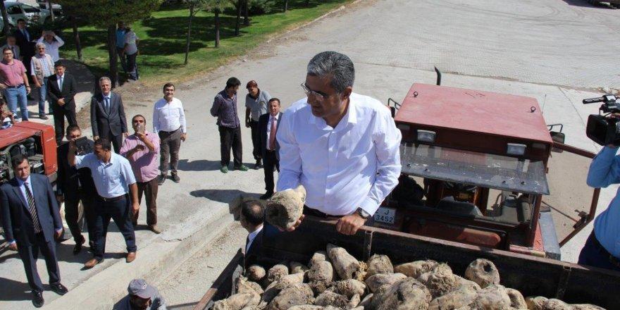 Konya Şeker'de pancar alım kampanyası başladı