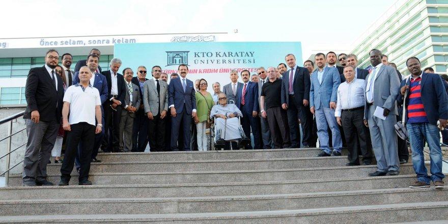 İslam Ticaret, Sanayi ve Tarım Odası Başkanlarından KTO Karatay'a Övgü