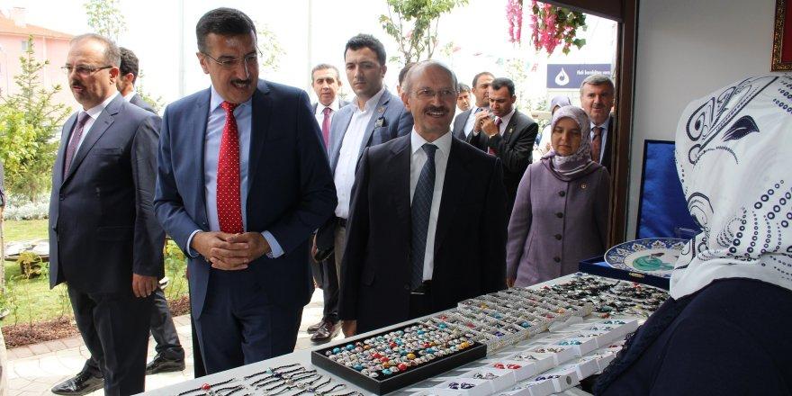 Tüfenkci, Konya'da açılış törenine katıldı