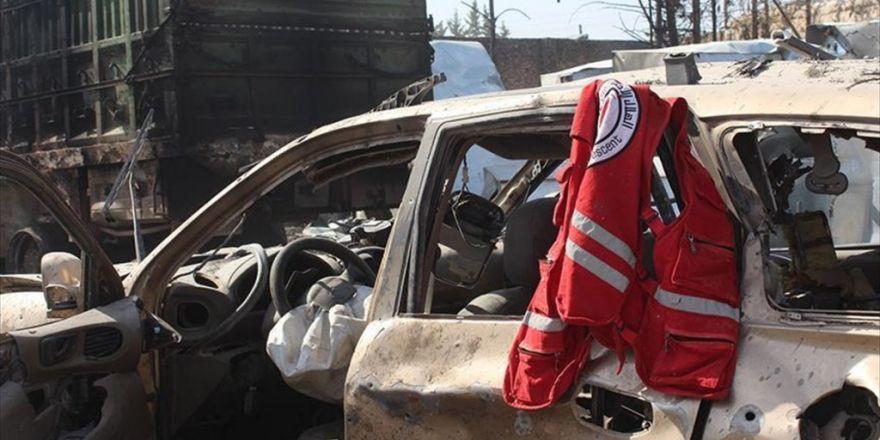 Abd'ye Göre İnsani Yardım Konvoyunu Rus Uçakları Vurdu