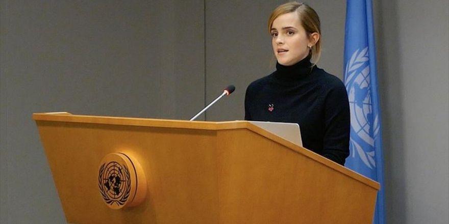Emma Watson Cinsiyet Eşitliği İçin Bm'de Konuştu