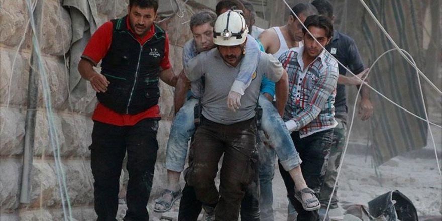 Esed Güçleri Halep'te Yerleşim Yerini Vurdu