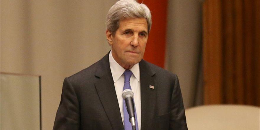 Kerry'den 'Suriye' Açıklaması